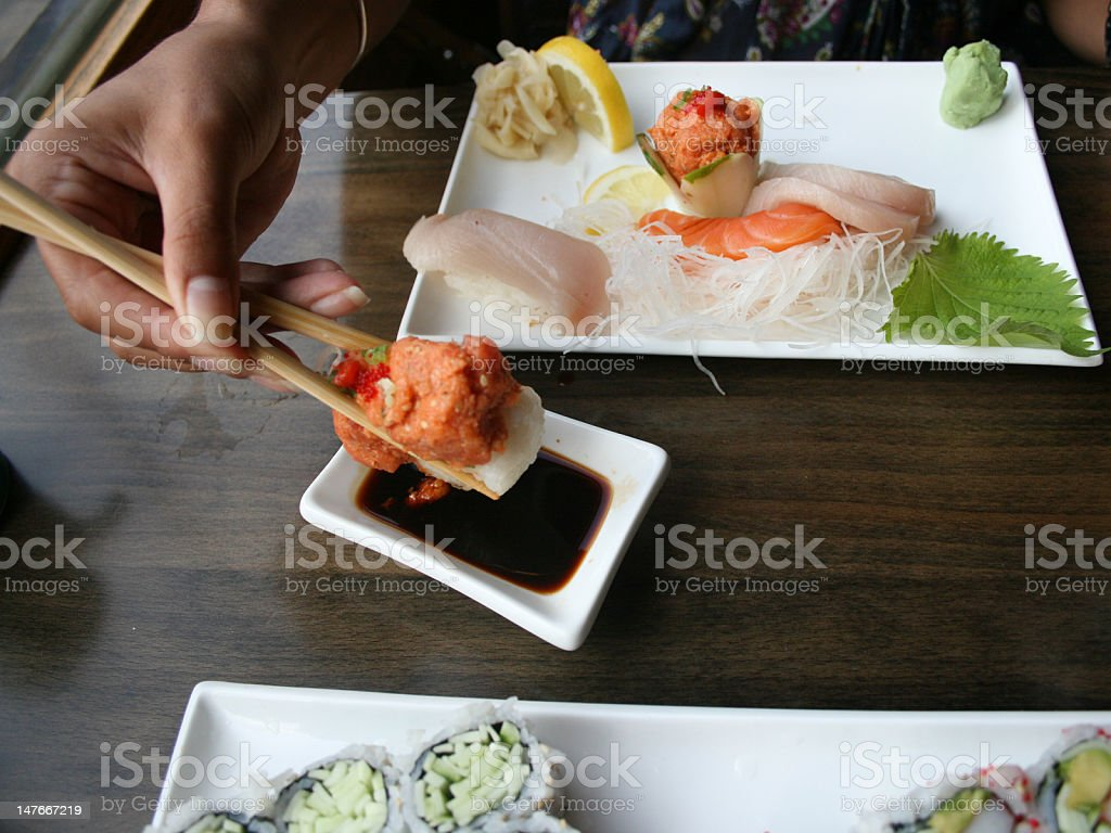 Sushi day royalty-free stock photo