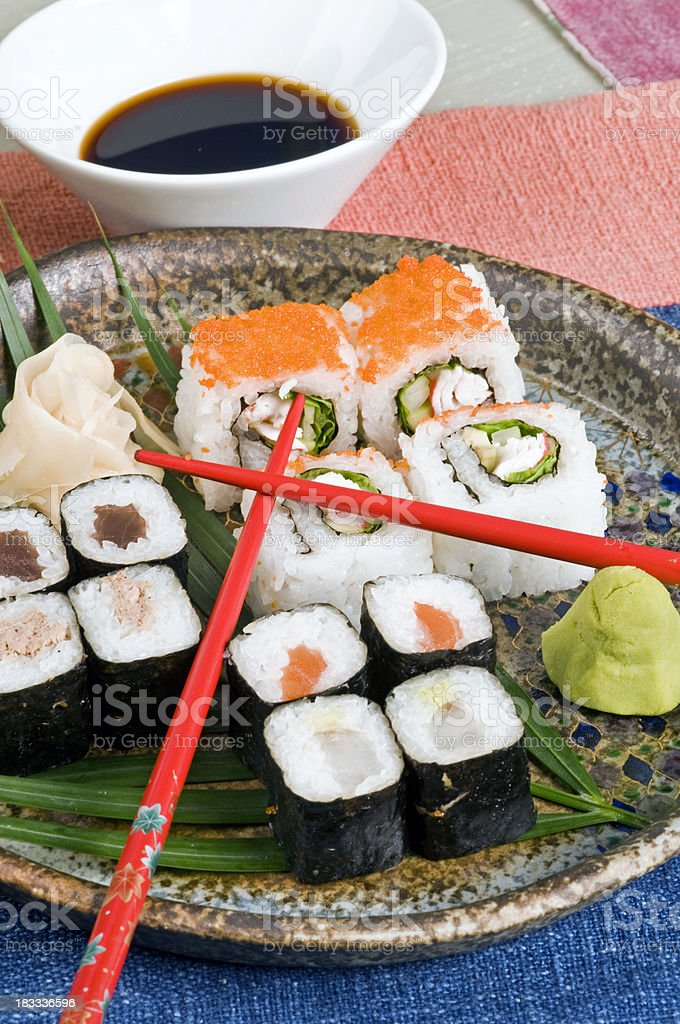 sushi food royalty-free stock photo
