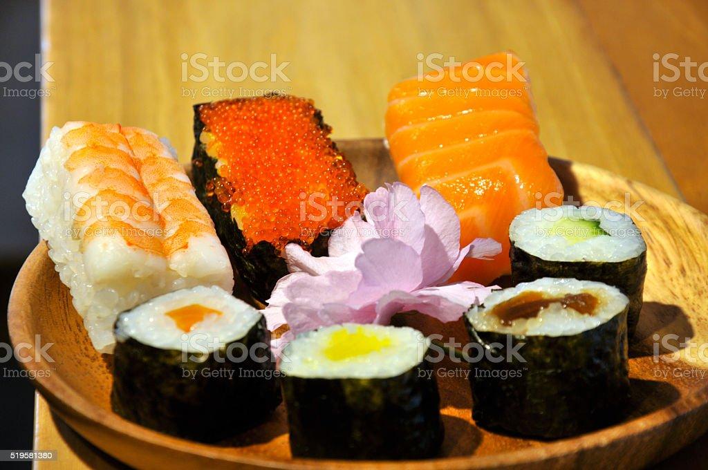 Sushi in China stock photo