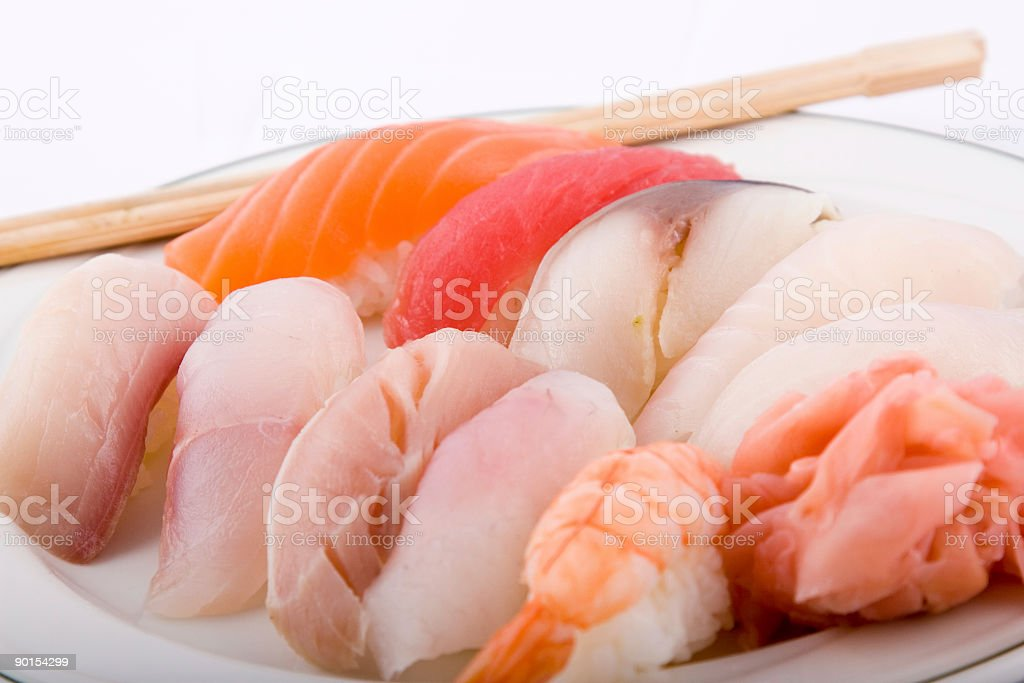 Sushi lunch deluxe. royalty-free stock photo