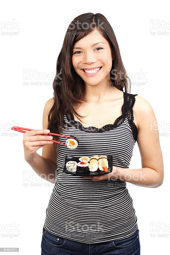 Sushi lunch snack royalty-free stock photo