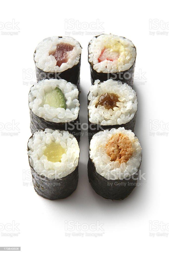 Sushi: Maki royalty-free stock photo