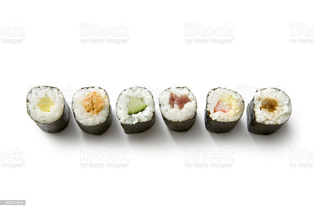 Sushi: Maki royalty-free stock photo