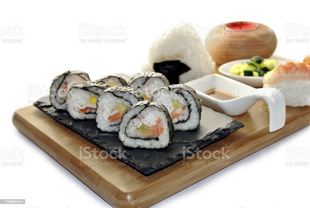 sushi meal royalty-free stock photo