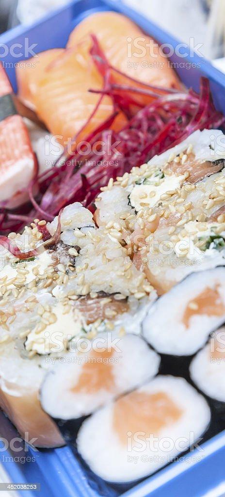 Sushi Menu royalty-free stock photo