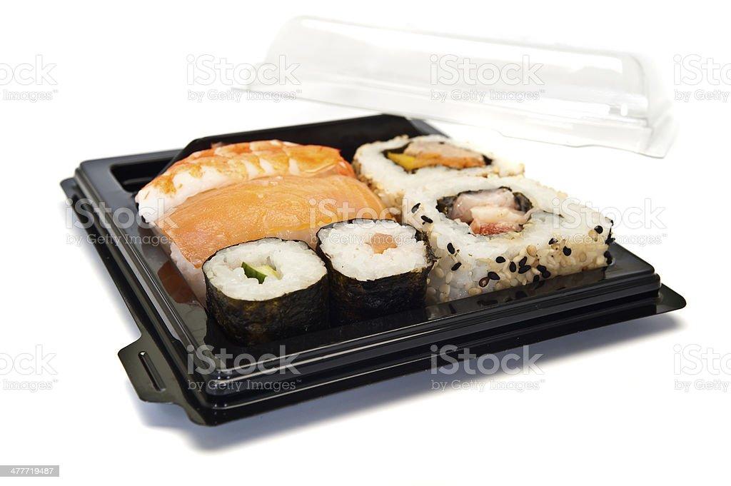Sushi mix royalty-free stock photo