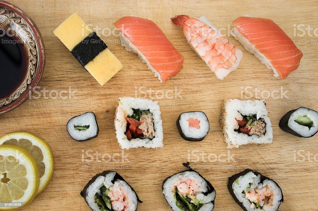 Sushi... royalty-free stock photo
