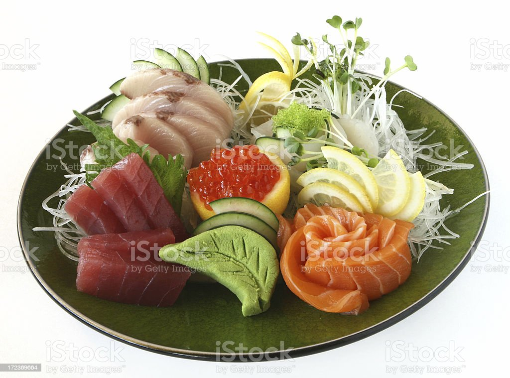 Sushi Plate royalty-free stock photo