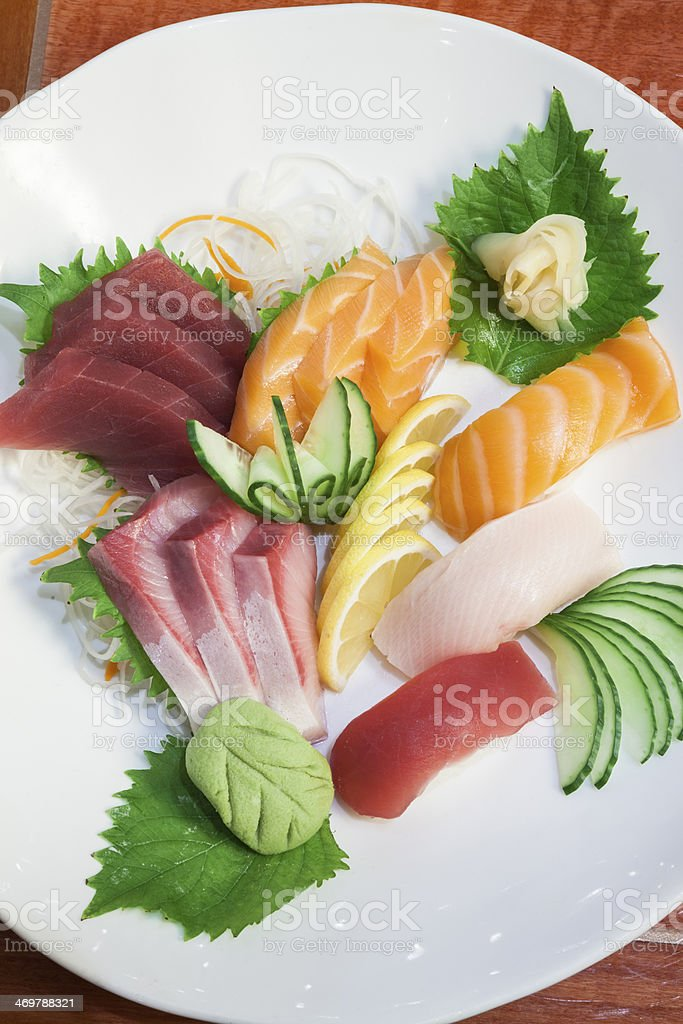 Sushi plate. royalty-free stock photo