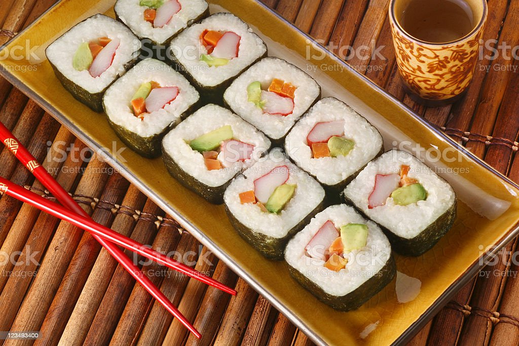 Sushi restaurant royalty-free stock photo