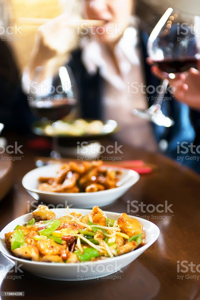 sushi restaurant stock photo