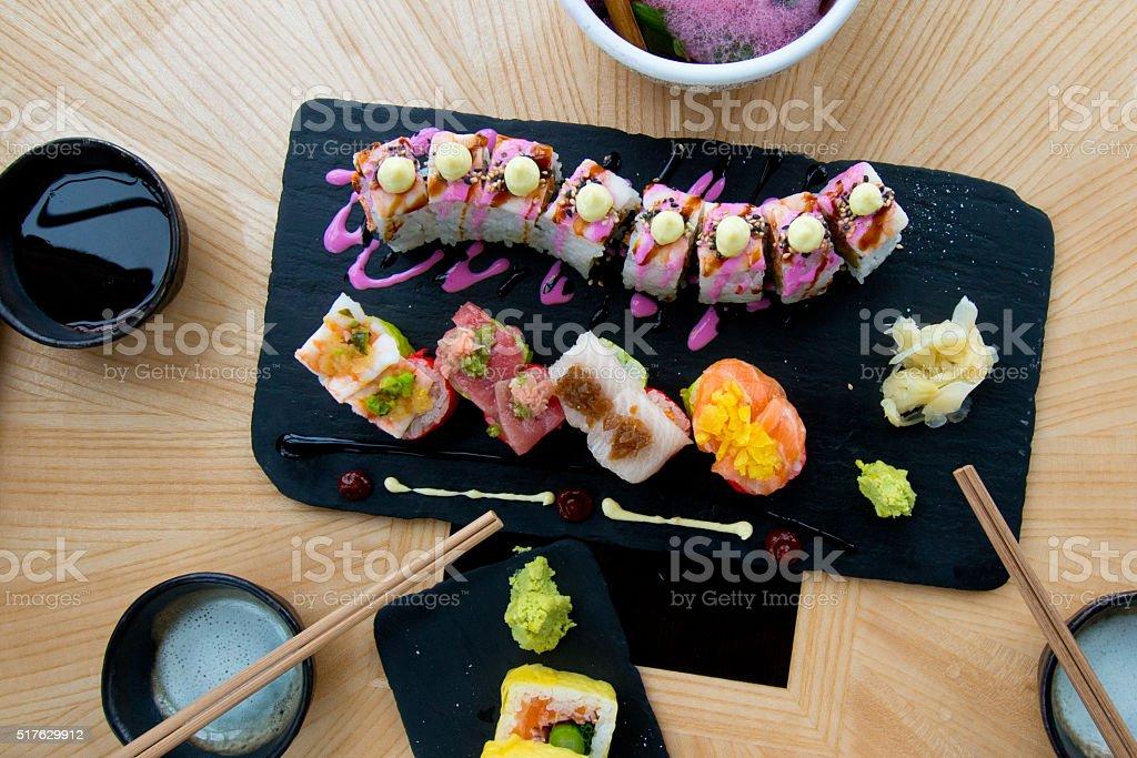 Sushi Roll Maki stock photo