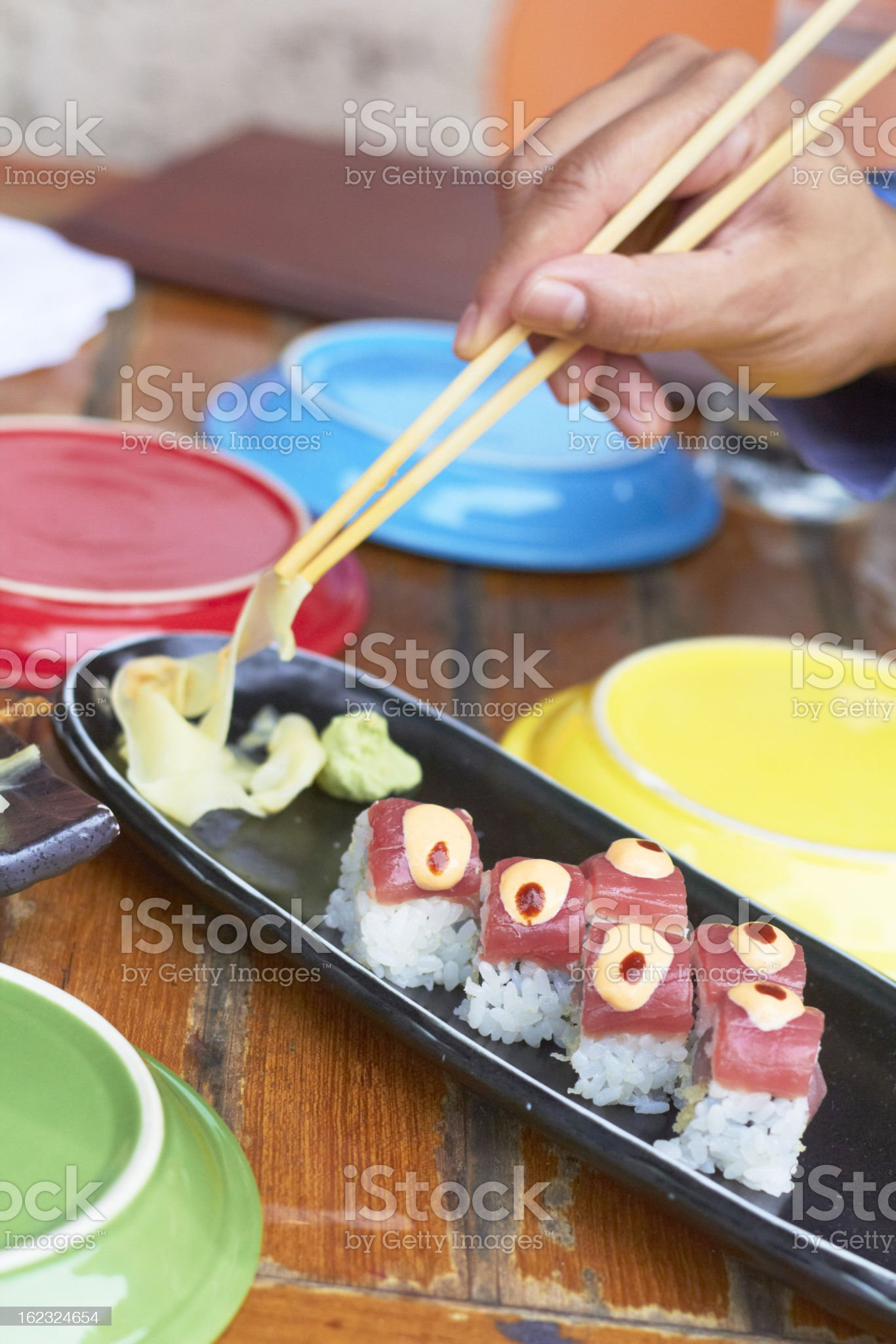 Sushi Roll royalty-free stock photo
