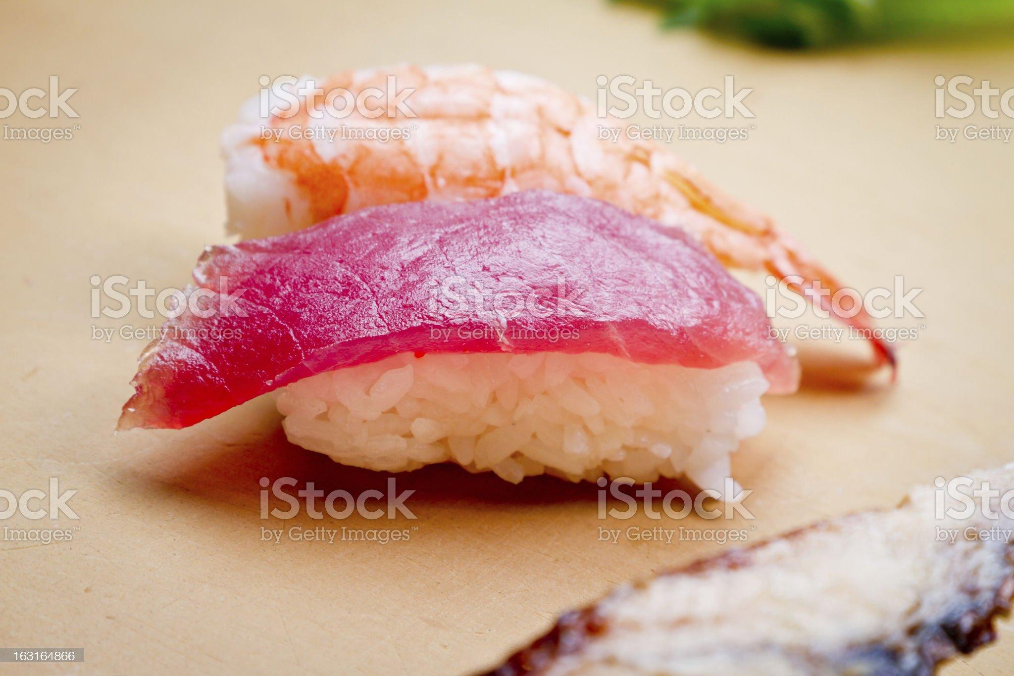 Sushi Rolls royalty-free stock photo