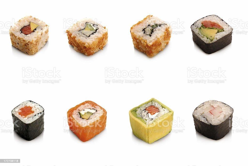 Sushi Rolls stock photo