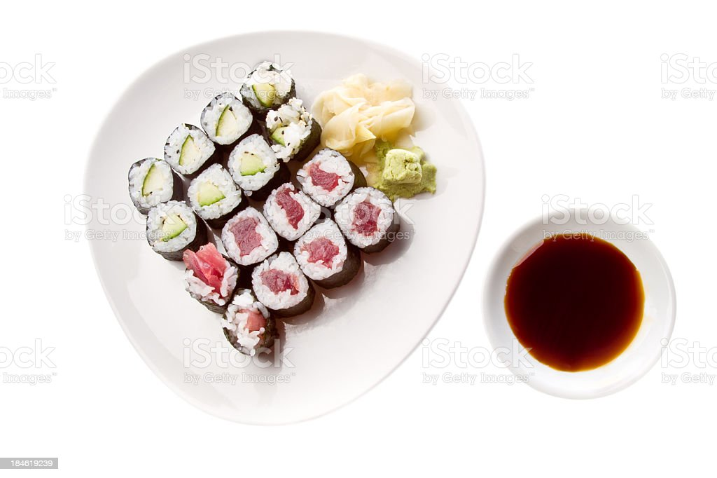 Sushi Rolls royalty-free stock photo