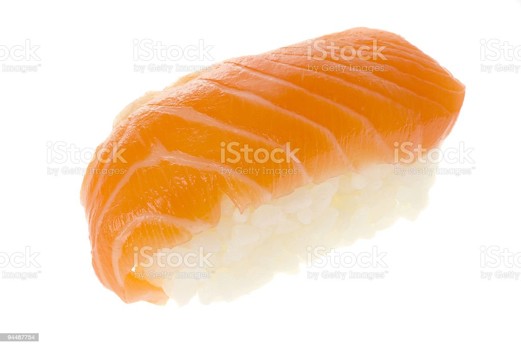 Sushi - Salmon Nigiri royalty-free stock photo