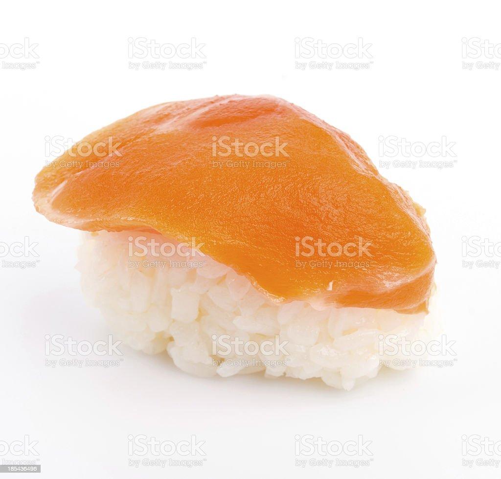 Sushi salmon royalty-free stock photo