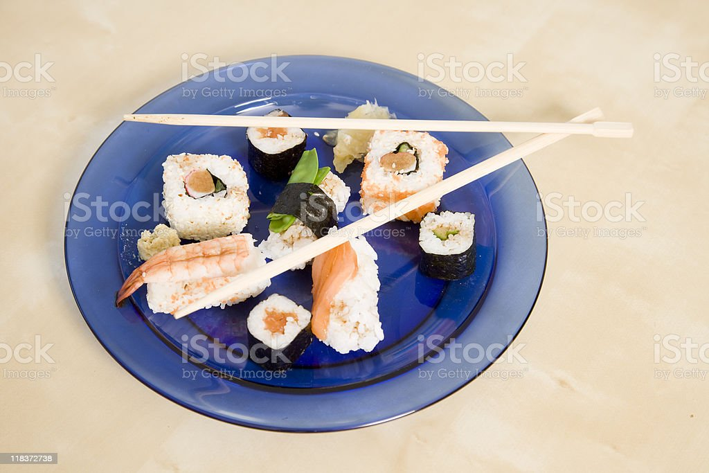 Sushi Series royalty-free stock photo