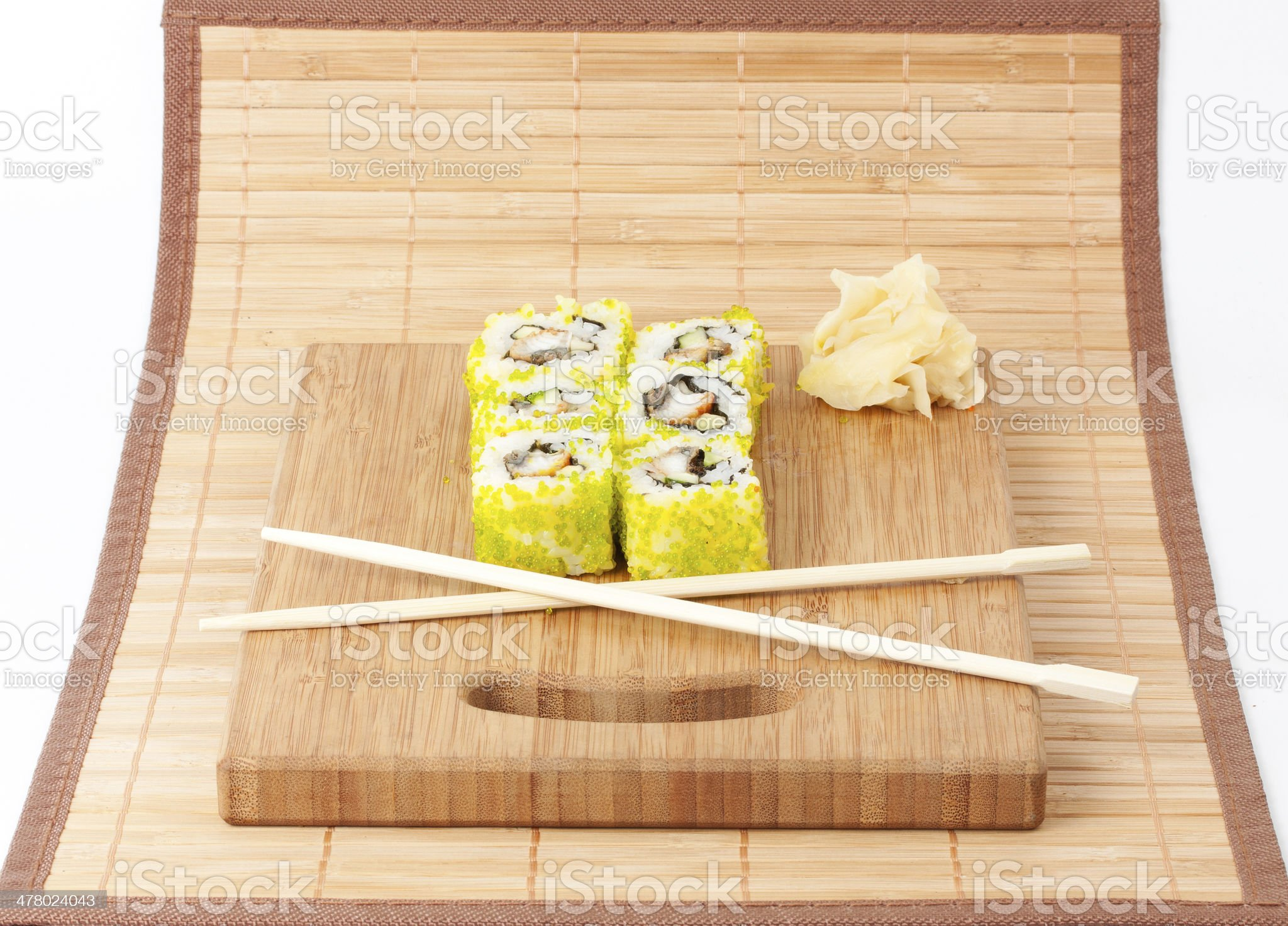 sushi set background royalty-free stock photo