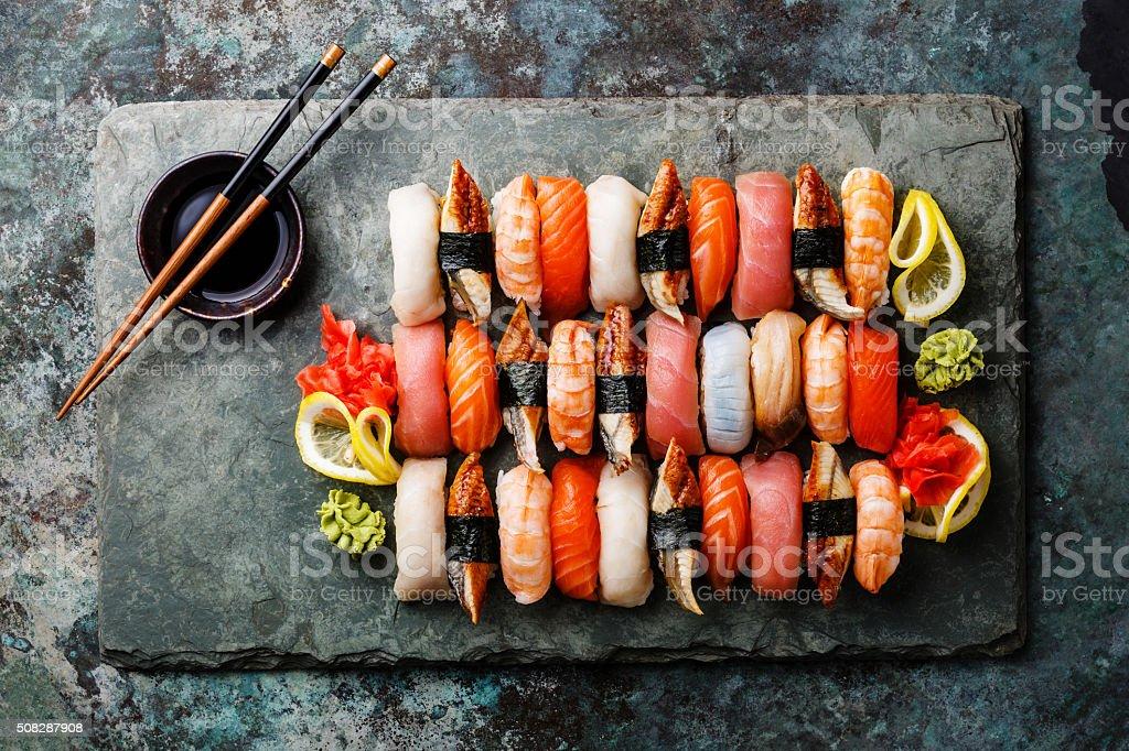 nigiri-Sushi Satz – Foto