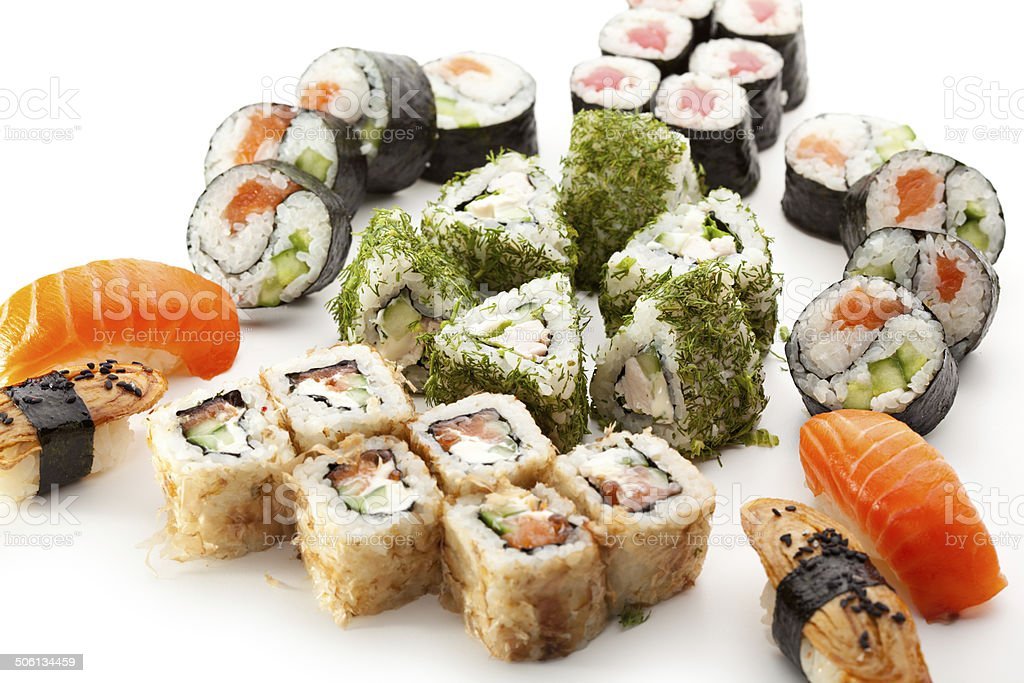 Sushi Set royalty-free stock photo