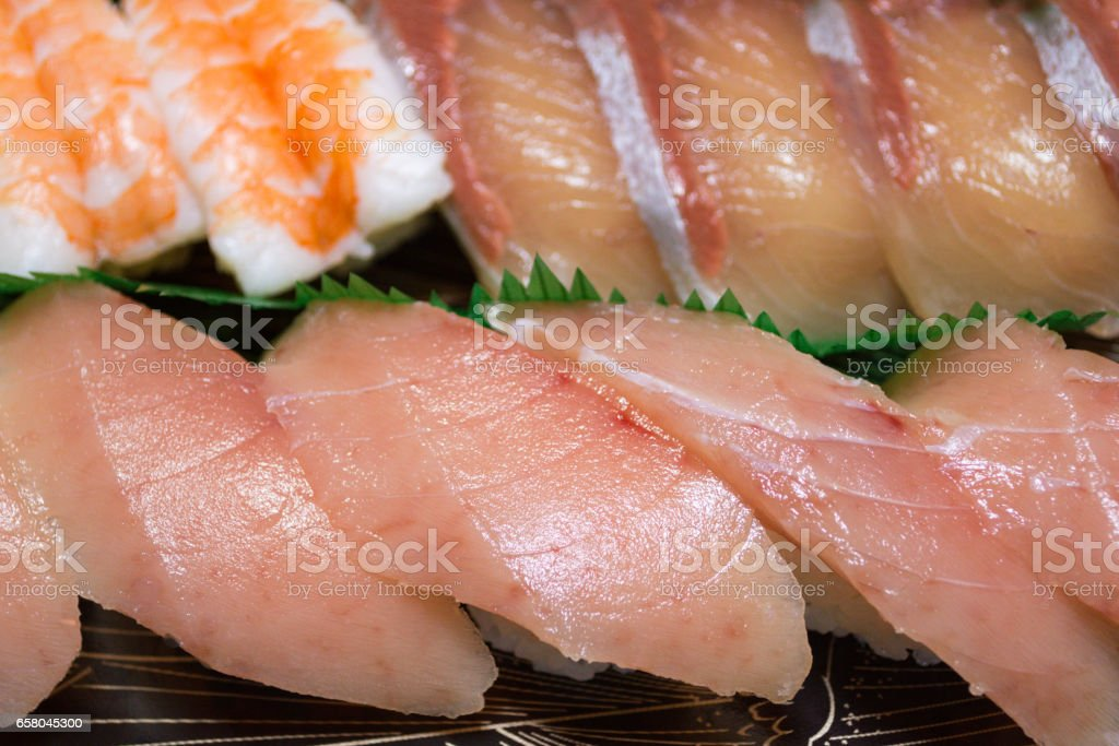 Sushi Set stock photo