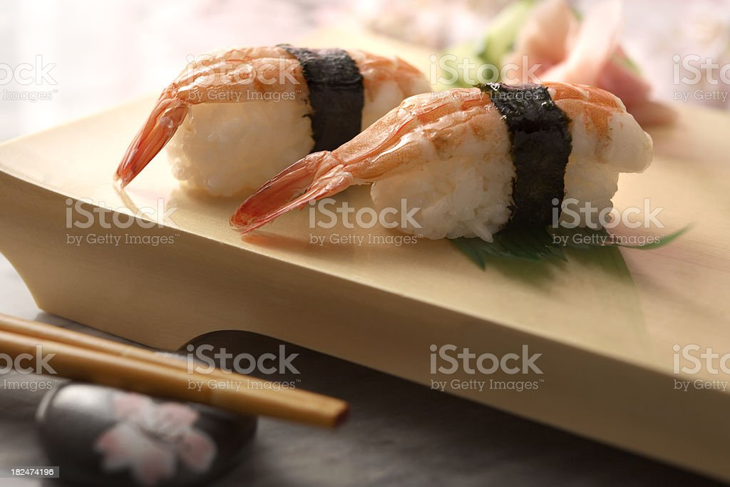 Sushi Stills: Shrimp Ebi stock photo