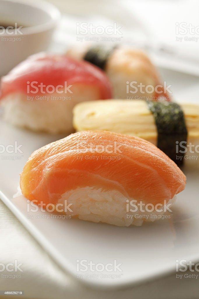 Sushi Stills: Variety royalty-free stock photo