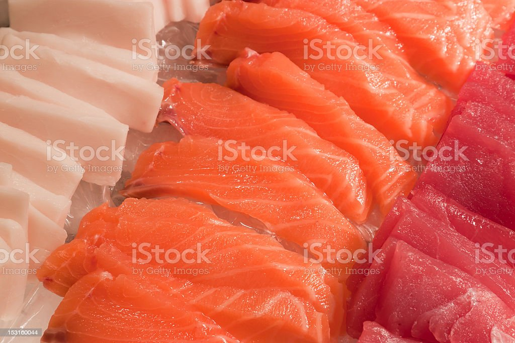 Sushi strips stock photo