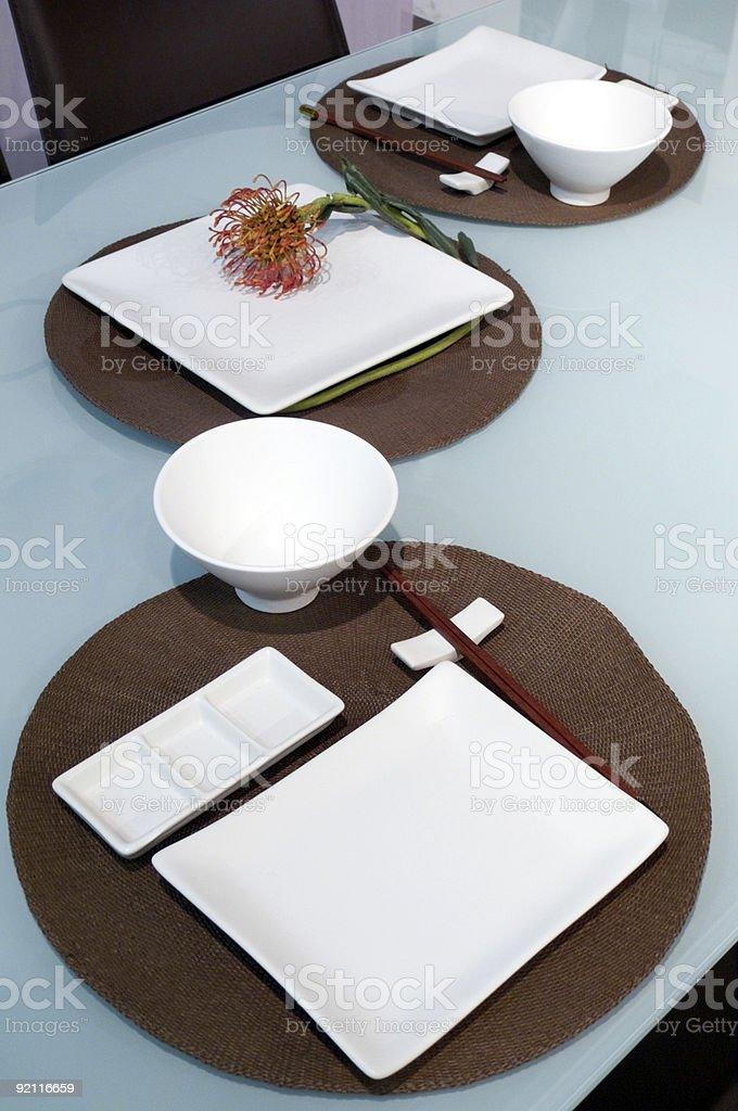 Sushi table royalty-free stock photo