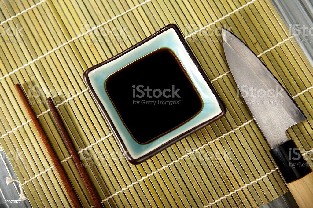 Sushi  Theme royalty-free stock photo