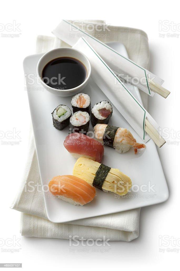 Sushi: Variety stock photo