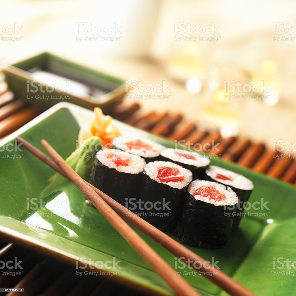 Sushi495 royalty-free stock photo