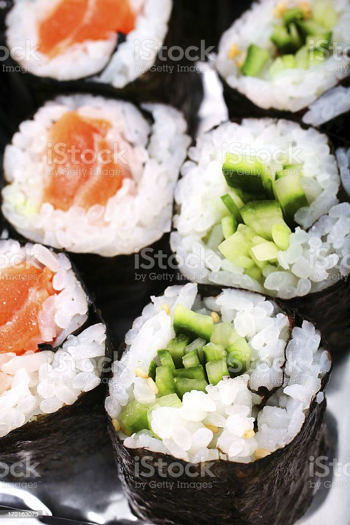 Sushi/Maki Take Out royalty-free stock photo