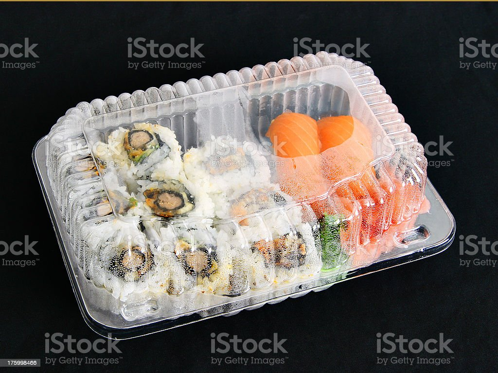 Sushi/Maki to go #1 royalty-free stock photo