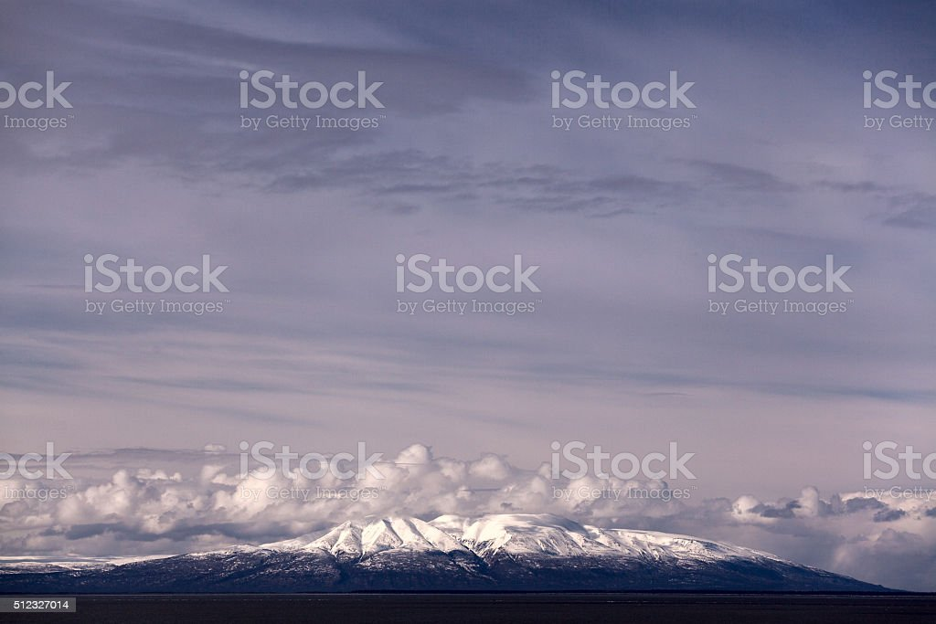 Susitna Sky royalty-free stock photo