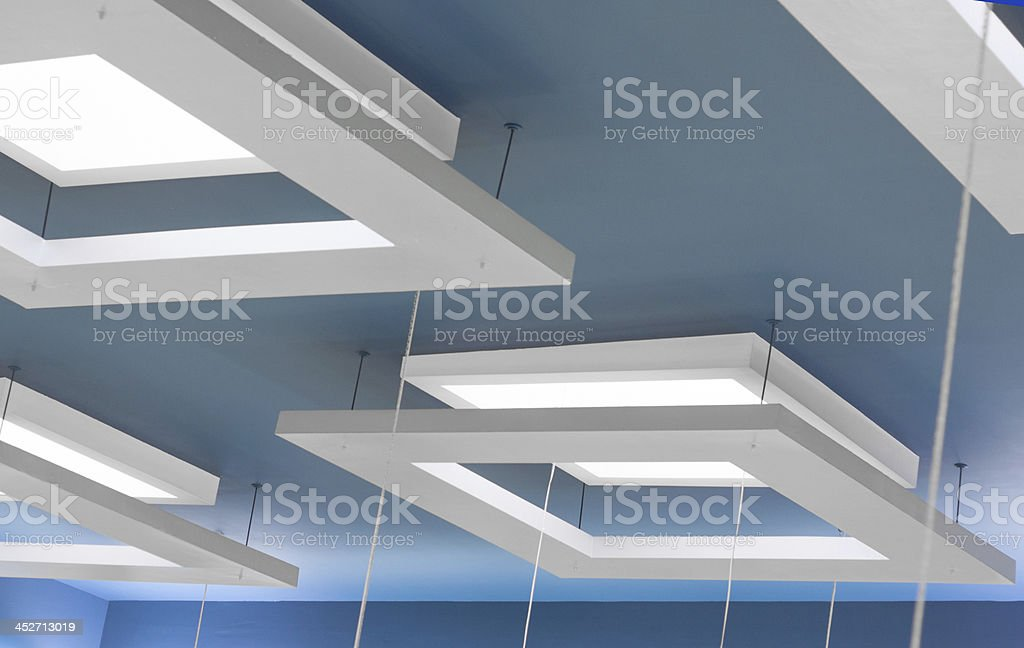 suspended ceiling stock photo