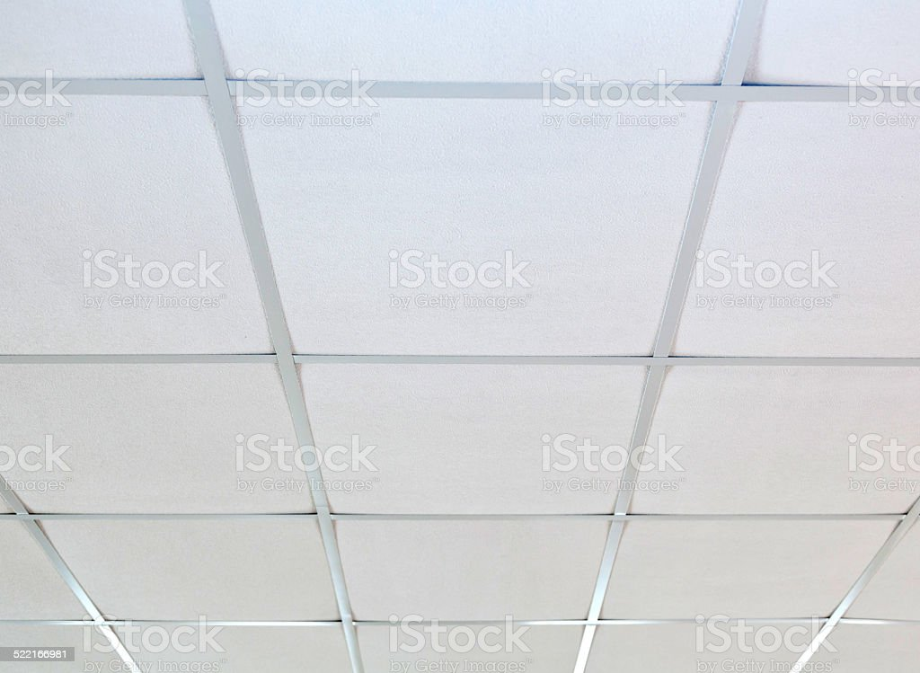 Suspended ceilings stock photo