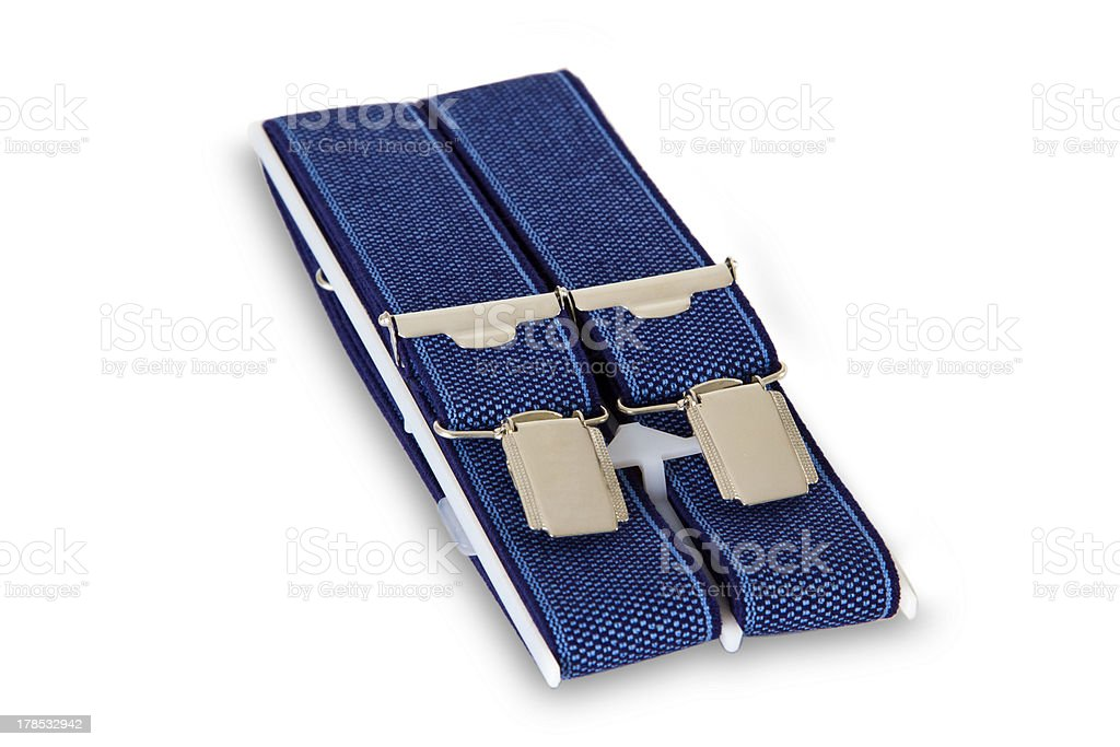 Suspenders royalty-free stock photo