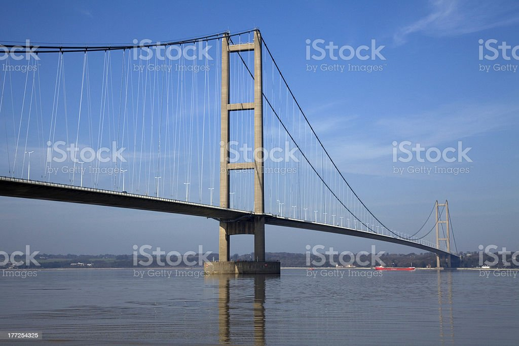 Suspension Bridge stock photo