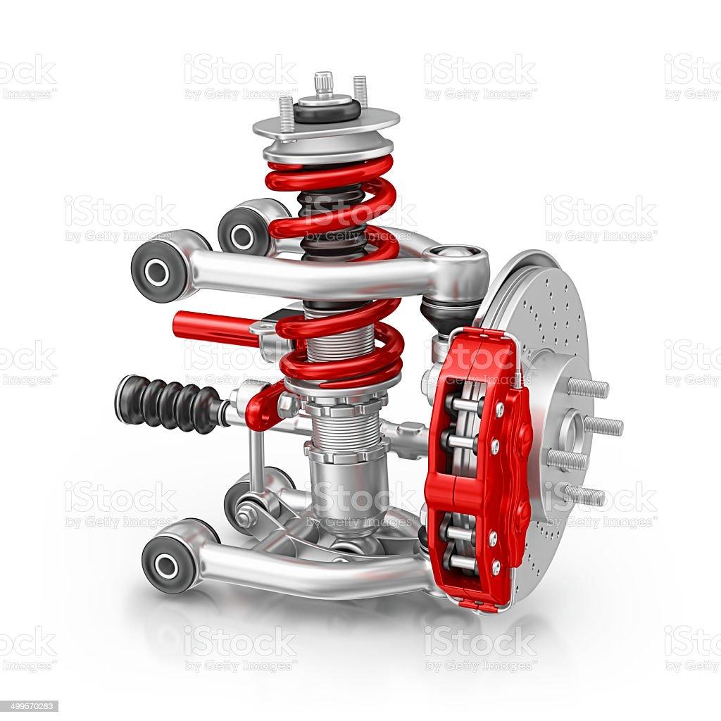 suspension stock photo