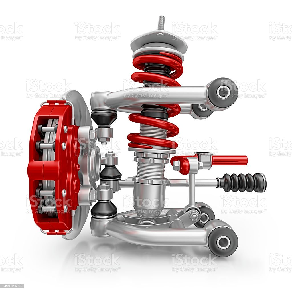 suspension royalty-free stock photo