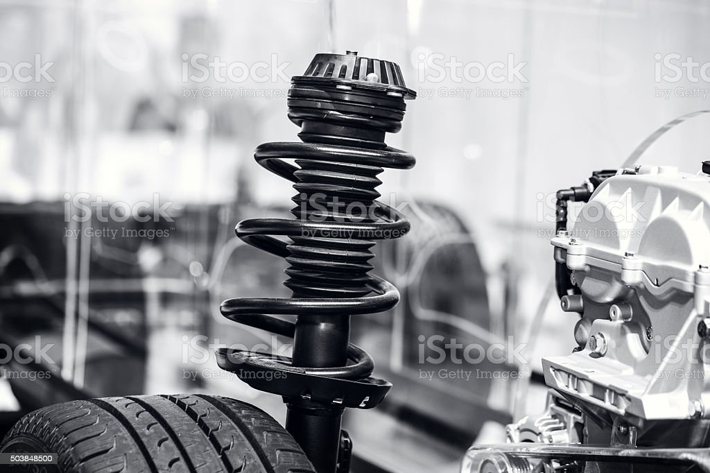Suspension System stock photo