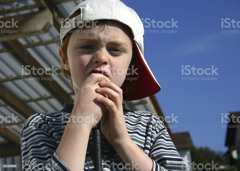 Suspicious? royalty-free stock photo