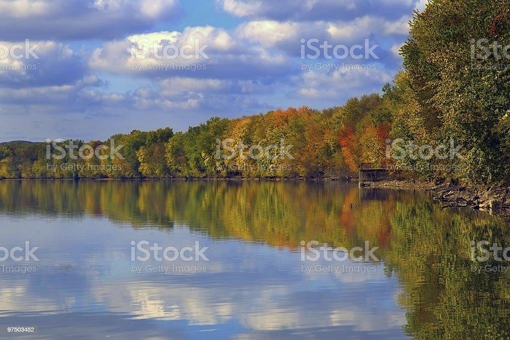 Susquehanna Fall royalty-free stock photo