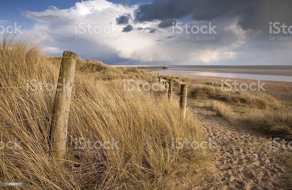 Sussex Beach royalty-free stock photo