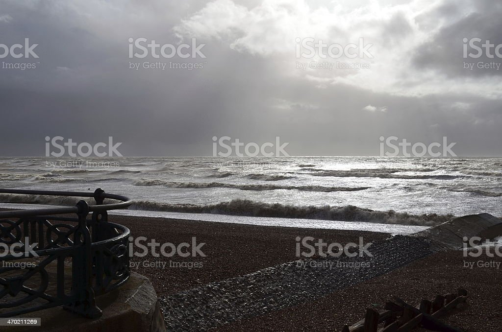 Sussex coastline. royalty-free stock photo