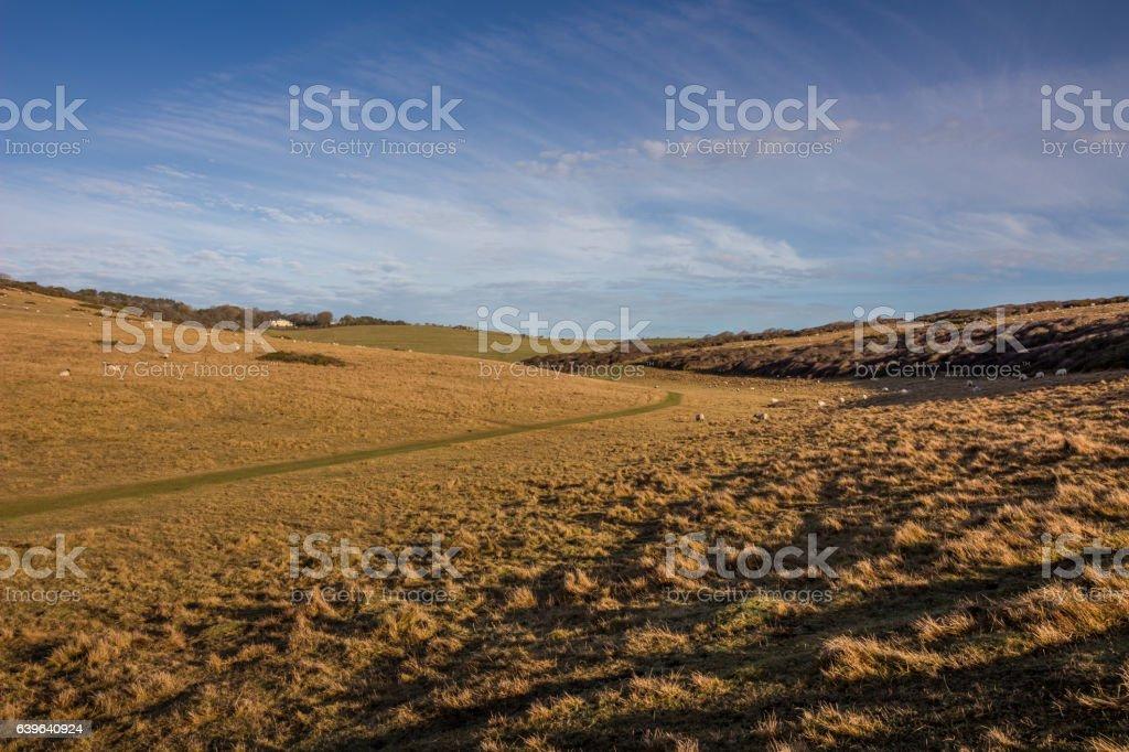 Sussex Landscape stock photo