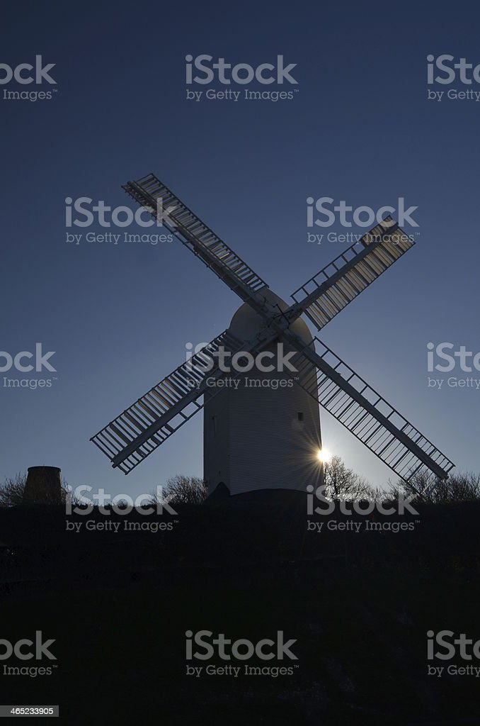 Sussex Windmills stock photo